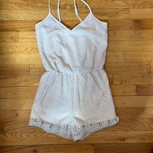 Forever 21 Lace Romper